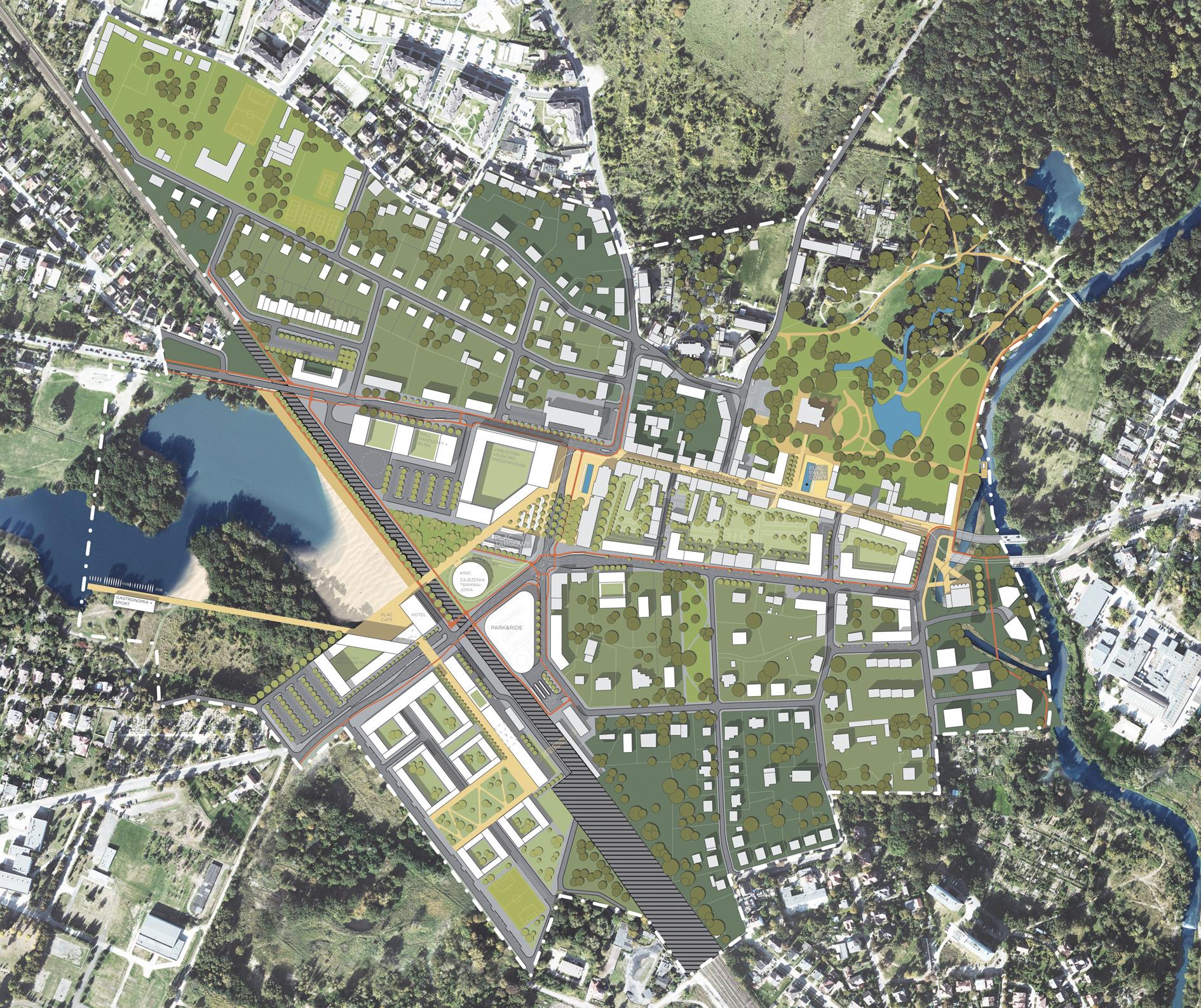 Masterplan Lesnica plan 02
