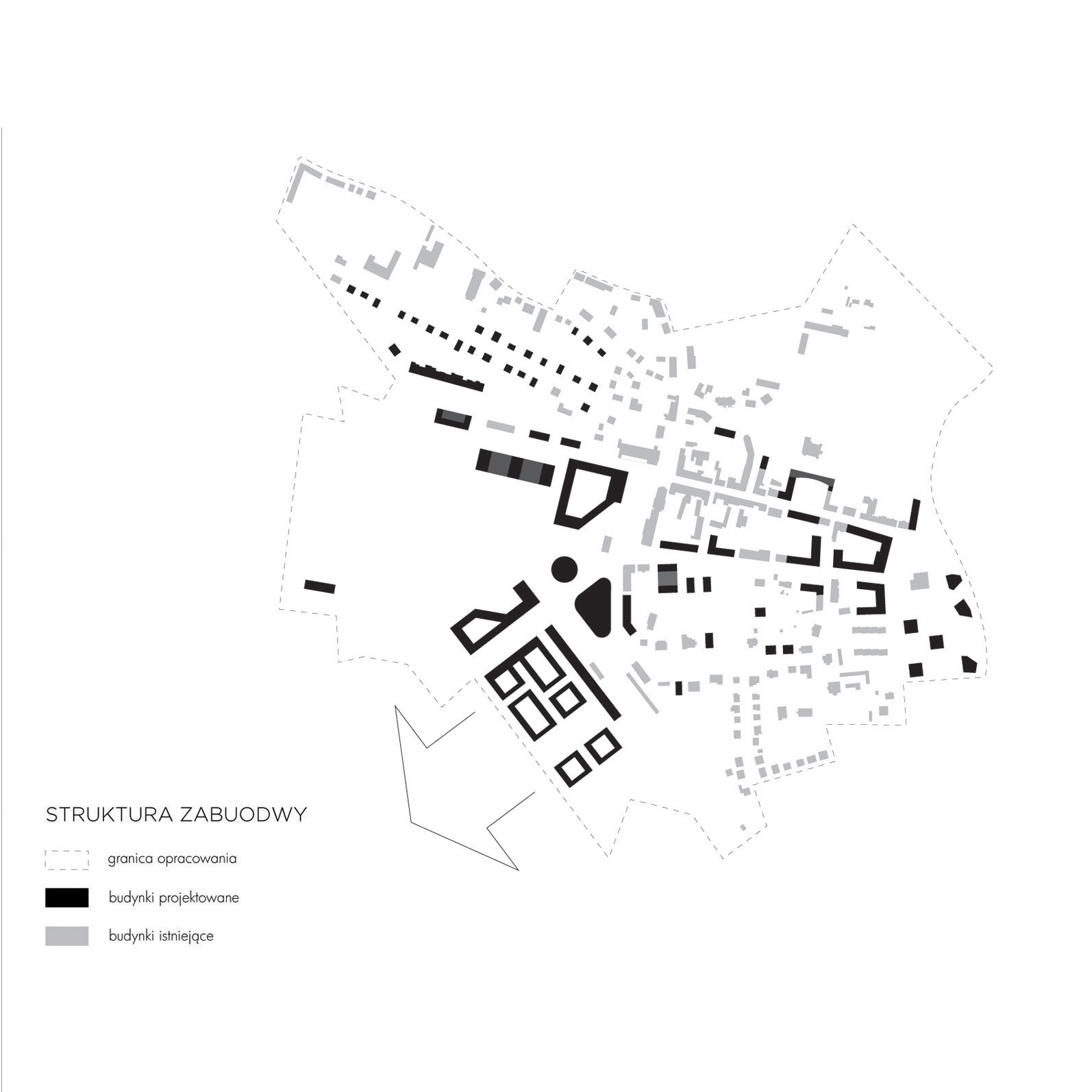 Masterplan Lesnica scheme 01