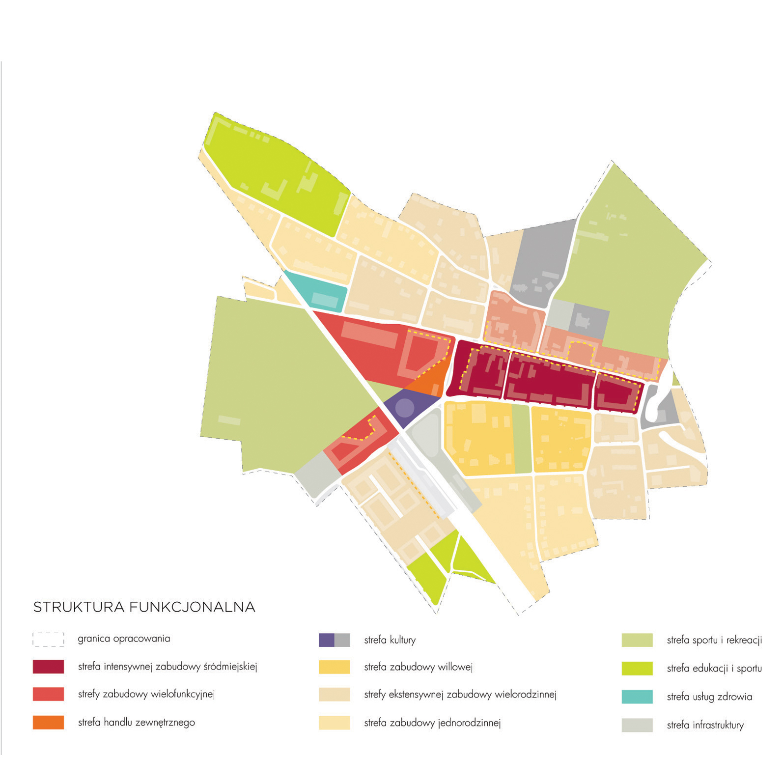 Masterplan Lesnica scheme 04